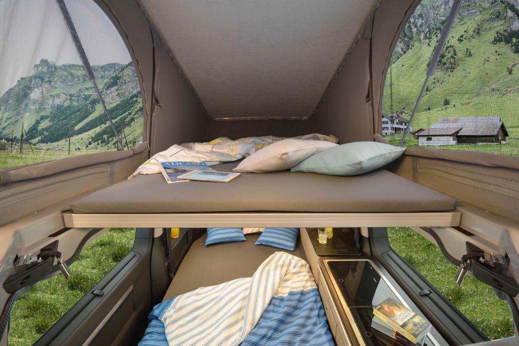 Acheter un van aménagé - l'espace nuit