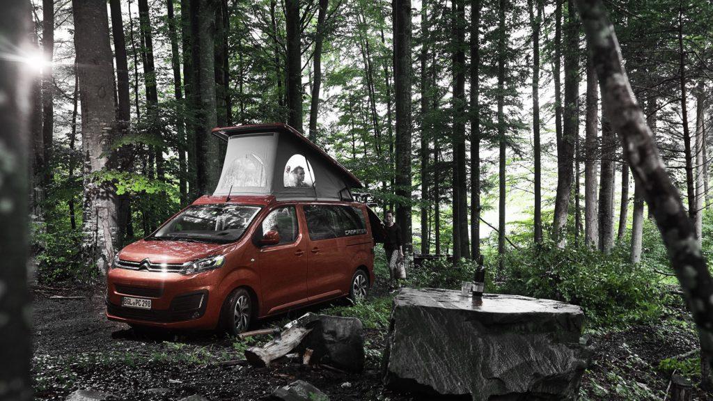 Louer un van aménagé avec km illimité